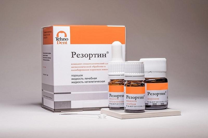 Резортин - стоматологический материал для пломбирования корневых каналов